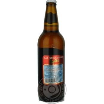Пиво Хмельпиво Жигулівське світле 4,2% 0,5л - купити, ціни на Novus - фото 5