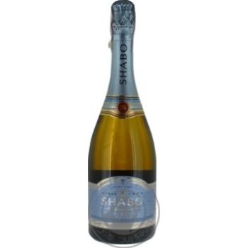 Вино игристое Shabo Charmat белое полусухое 10,5-13,5% 0.75л - купить, цены на Novus - фото 3