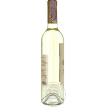 Вино Колонист Сухолиманское белое сухое 12% 0,75л - купить, цены на Ашан - фото 3