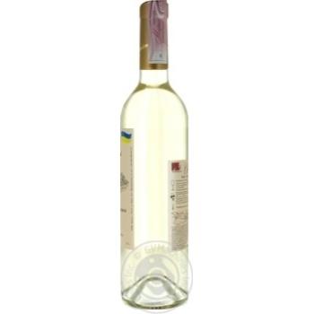 Вино Колонист Сухолиманское белое сухое 12% 0,75л - купить, цены на Ашан - фото 4