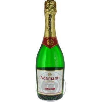 Sparkling wine Adamanti white brut 13% 750ml glass bottle Georgia - buy, prices for Furshet - image 3