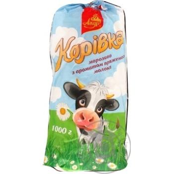 """Морозиво ТМ""""Laska"""" пряжене молоко 1 кг"""