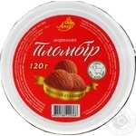 Ice-cream Azhur Gold standard with cocoa 120g Ukraine