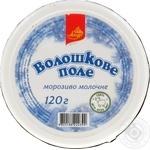 """Морозиво ТМ""""Ажур"""" """"Волошкове поле"""" ванільне стакан 120г"""