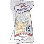 Морозиво 15 копійок пломбір Ласунка стакан 70г