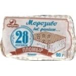 Морозиво Ласунка Морозиво як раніше 28 копійок пломбір брикет 90г