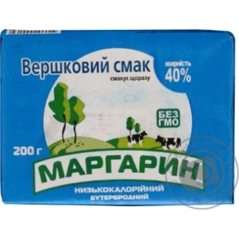 МАРГАРИН 40%, 200Г