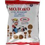 Молоко Молочный свит сухое 25% 250г