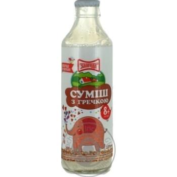 Смесь молочно-зерновая Злагода с гречкой для детей с 8 месяцев 2% 200г
