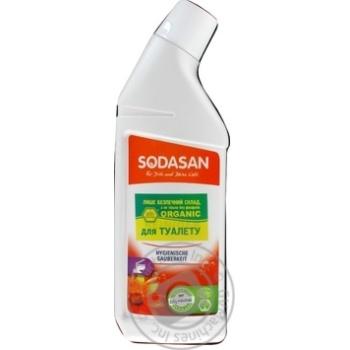 Моющее средство Sodasan organic для чистки туалета 750мл