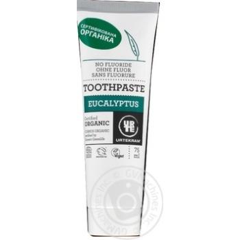 Urtekram Organic Eucalyptus Toothpaste 75ml