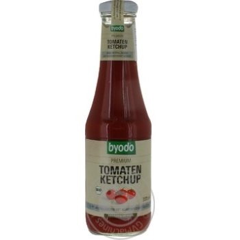 Кетчуп Byodo Organic томатный без сахара 500мл