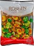 Конфеты Roshen Джус-микс карамель с фруктово-ягодной начинкой 200г