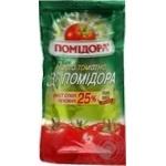 Паста томатная Помидора 33 помидора 25% 70г