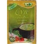 Суп Эко гороховый с гренками и беконом 18г