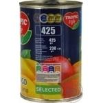 Манго Tropic life скибочками в сиропі 425г - купити, ціни на Фуршет - фото 2