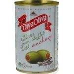 Diva Oliva Green Olives stuffed with anchovy 300g - buy, prices for MegaMarket - image 3