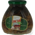 Mushrooms suillus Oscar pickled 530ml glass jar China
