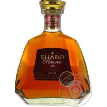 Shabo Reserve V.S. 3 yrs cognac 40% 0,5l - buy, prices for Novus - image 1