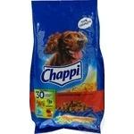 Корм для собак сухий Chappi Яловичина,птах500г