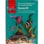Корм Topsi Травоед сухой натуральный для аквариумных рыб 20г