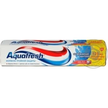 Зубная паста Aquafresh Освежающая мятная 125мл - купить, цены на Novus - фото 6