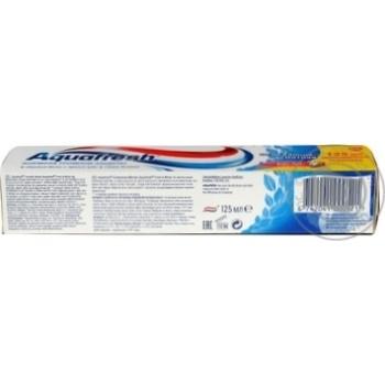 Зубная паста Aquafresh Освежающая мятная 125мл - купить, цены на Novus - фото 7