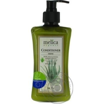 Бальзам-кондиционер Melica organic для блеска волос 300мл