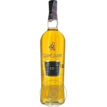 Whiskey Glen grant single malt 40% 1000ml glass bottle Scotland England