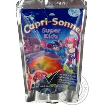 Напиток Капризон Суперкидс соковый 200мл Украина