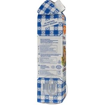Молоко Селянское Малышам ультрапастеризованное 3.2% 1000г - купить, цены на Novus - фото 3