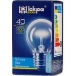 Лампа ЛЗП Іскра прозора PS45 230B 40Вт Е27