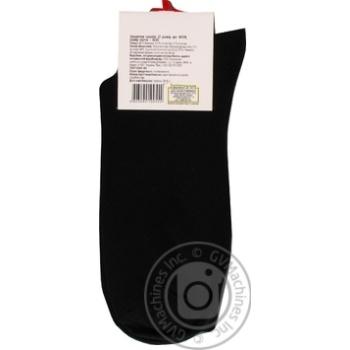 Шкарпетки Кожен День чоловічі чорні 27р - купити, ціни на Ашан - фото 2