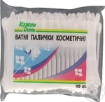 Cotton sticks Auchan Kozhen den 100pcs