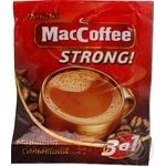 Кава розчинна 3в1 MacCoffee strong 12г