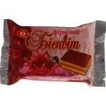 Biscuit-Сhocolate Biscut cherry with cream taste 55g