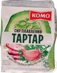 Сыр плавленый Комо Тартар 55% 90г