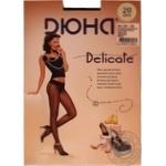 Колготи жіночі Delicate 20 Den розмір 4 чорний 124