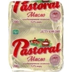 Масло солодковершкове 72,5% ДСТУ 4399:2005 Селянське Доманівське молочко фольга 200г