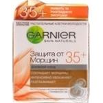 Крем денний Garnier Skin Naturals Захист від Зморшок від 35 років 50мл