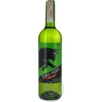 Вино Toro Rojo біле напівсолодке 11% 0,75л - купити, ціни на МегаМаркет - фото 1