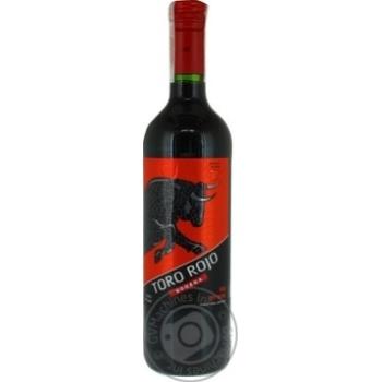 Вино Bodega Toro Rojo красное сухое 11% 0,75л