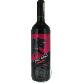 Вино Toro Rojo червоне напівсолодке 11% 0,75л - купити, ціни на МегаМаркет - фото 1