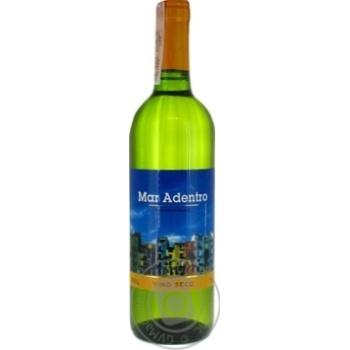 Вино Mar Adentro белое сухое 10% 0.75л