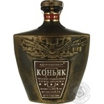 Коньяк Дорошенко кераміка 5* 40% 0,5л