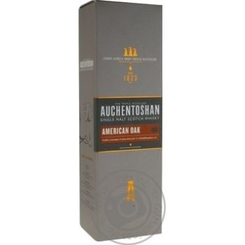 Auchentoshan American Oak 8yrs whisky 40% 0,7l - buy, prices for Novus - image 1