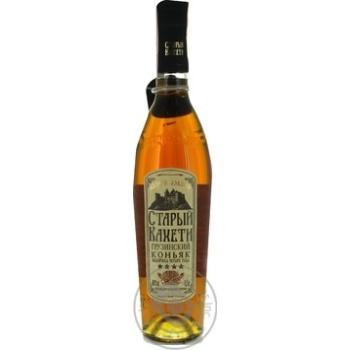 Staryi Kakheti 4 stars Cognac 40% 0,5l - buy, prices for Novus - image 3