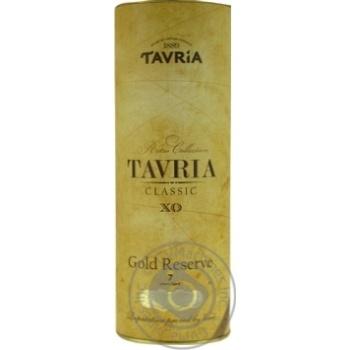 Коньяк Tavria Classic 7 лет 40% 0,5л
