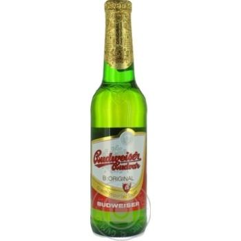 Пиво Budweiser Budvar светлое 0,33л