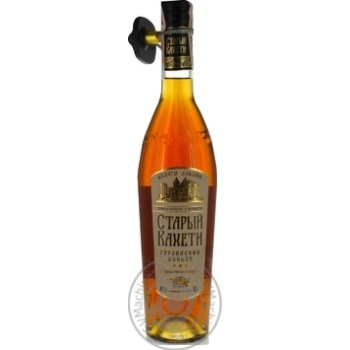 Staryi Kakheti 3 stars Cognac 40% 0,5l - buy, prices for Metro - image 3